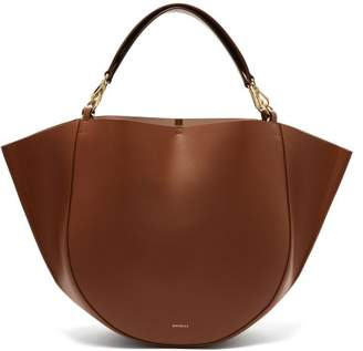 Wandler - Mia Leather Tote Bag - Womens - Tan