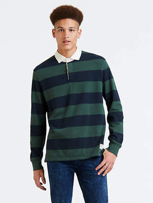 Levi's Mighty Made Long Sleeve Rugby Polo
