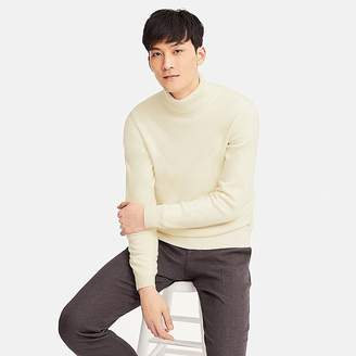 Uniqlo Men's Cashmere Turtleneck Long-sleeve Sweater