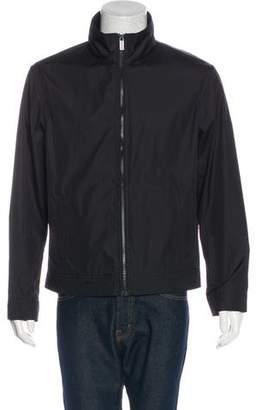 Michael Kors Woven Zip Jacket