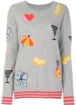 Parker Chinti & Summer intarsia jumper