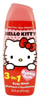 Hello Kitty 3 in1 Bodywash $2.79 thestylecure.com