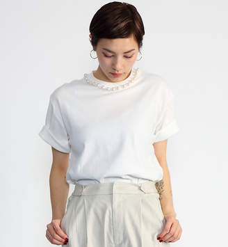 CAPRICIEUX LE'MAGE (カプリシュ レマージュ) - カプリシュ レマージュ 〈再入荷〉パールTシャツ