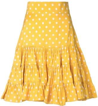 12c4403e8372 Yellow Ruffle Skirt - ShopStyle UK
