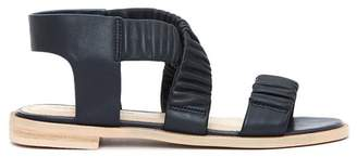 Kelsi Dagger Brooklyn Ryder Pleated Flat Sandal (Women)