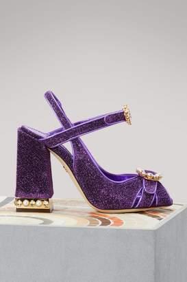 Dolce & Gabbana Lurex sandals