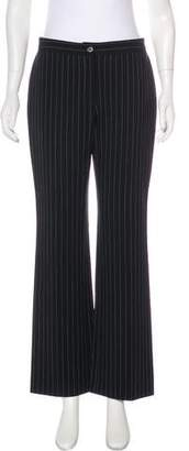 Celine Mid-Rise Pinstripe Pants