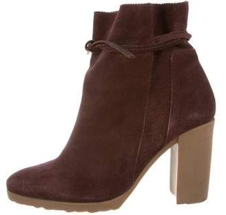 Pierre Hardy Suede Ankle Boots