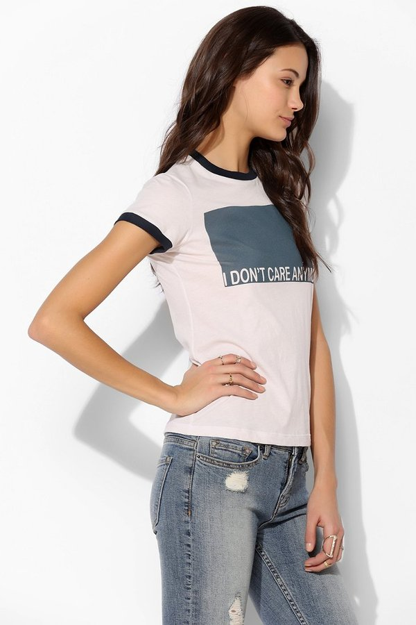 Urban Outfitters Project Social T Don't Care Tee