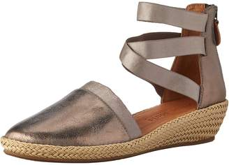 Gentle Souls by Kenneth Cole Women's Noa-Beth Closed Toe Wedge Espadrille Sandal