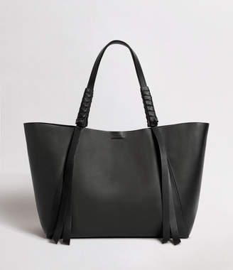 AllSaints Voltaire Leather East West Tote