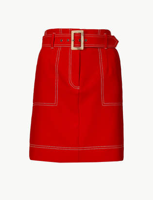 Marks and Spencer A-Line Mini Skirt