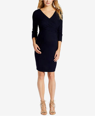 Jessica Simpson Maternity V-Neck Sheath Dress