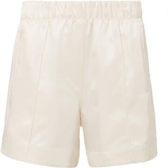 Helmut Lang Silk Ivory Shorts