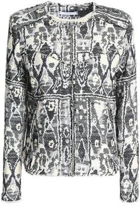IRO Inoui Frayed Bouclé-Tweed Jacket