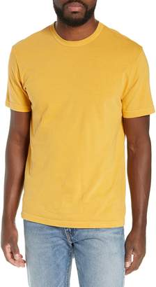 James Perse Regular Fit Tonal Palms Crewneck Shirt