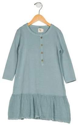 NICO.NICO Girls' Long Sleeve Flared Dress