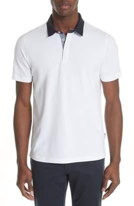 Emporio Armani Stretch Cotton Polo Shirt