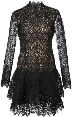 Jonathan Simkhai Guipure lace long-sleeve dress