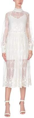 ENGLISH FACTORY 3/4 length dresses