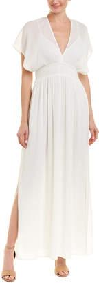 Ella Moss Shirred Maxi Dress