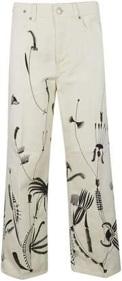 Dries Van Noten Printed Trousers