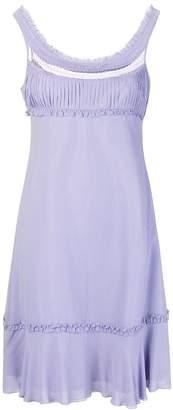 0faa6092e30b Giorgio Armani Pre-Owned empire line short dress