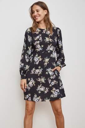 Velvet by Graham & Spencer WINOLA FLORAL PRINTED CHALLIS DRESS