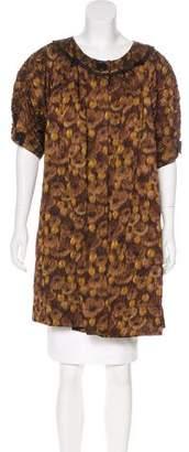 Louis Vuitton Silk Textured Coat