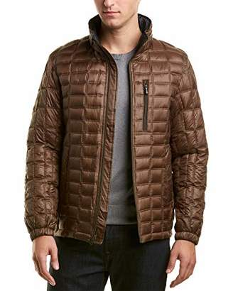 Rainforest Men's Thermoluxe Brick Tile Quilting Reversible Jacket