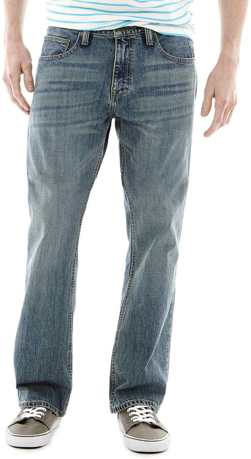 Arizona Basic Original Bootcut Jeans - ShopStyle Men