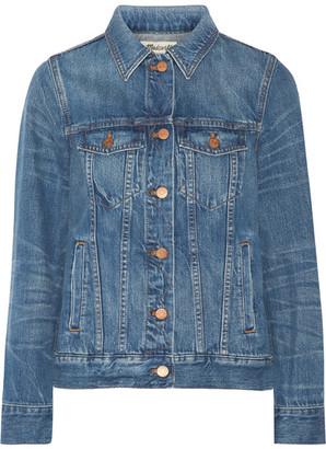Madewell - Classic Jean Denim Jacket - Mid denim $120 thestylecure.com
