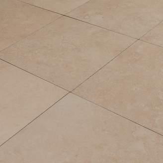 "MSI Travertino 24"" x 24"" Porcelain Field Tile in Beige"