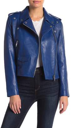 Walter Baker Liz Lamb Leather Jacket