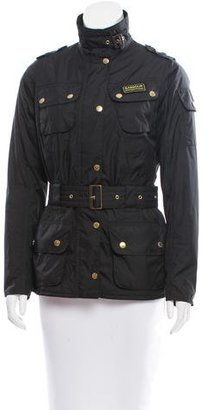 Barbour Lightweight Belted Jacket $175 thestylecure.com