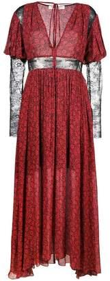 Philosophy di Lorenzo Serafini V-neck long dress