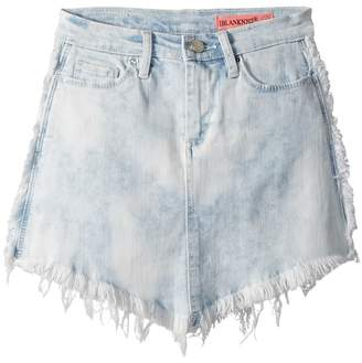 Blank NYC Kids Cut Off Mini Skirt in Washed Gaze Girl's Skirt