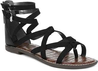 Women Size 4.5 New Sam Edelman Ginger Gladiator Sandal Silver Leather