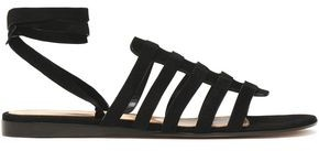 Gianvito Rossi Pompei Cutout Suede Sandals