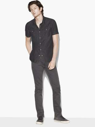 John Varvatos Short Sleeve Western Shirt
