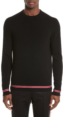 Men's Givenchy Iconic Canvas Trim Sweater $745 thestylecure.com