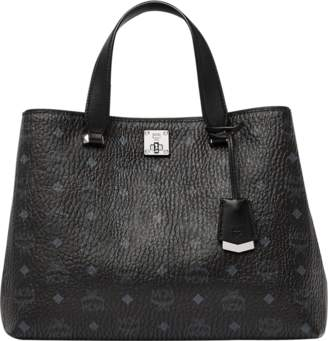 MCM Essential Tote In Visetos Original