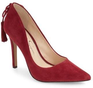 Women's Jessica Simpson Centella Pointy Toe Pump $97.95 thestylecure.com