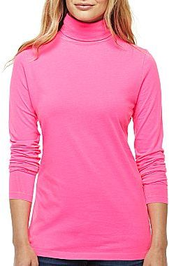 JCPenney jcpTM Turtleneck