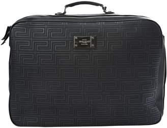 Gianni Versace Black Leather Travel Bag a30595b8bcc05