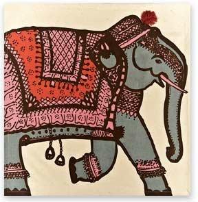 Simrin Raja Elephant Napkins