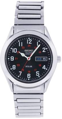 Seiko Men's SNE179 Stainless Steel Analog with Dial Watch