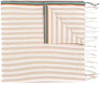 Paul Smith mixed stripe scarf