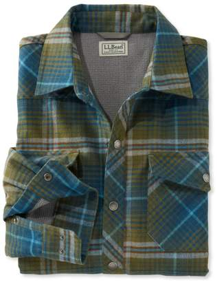 L.L. Bean L.L.Bean Overland Performance Flannel Shirt, Lined
