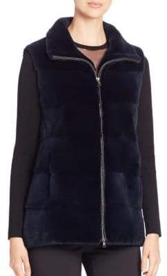 Michael Kors Plucked Mink Fur Vest
